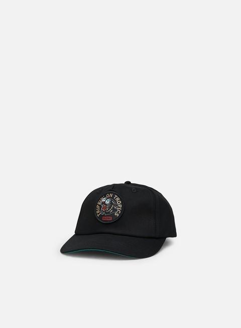 Curved Brim Caps Globe Trippin Trucker Cap