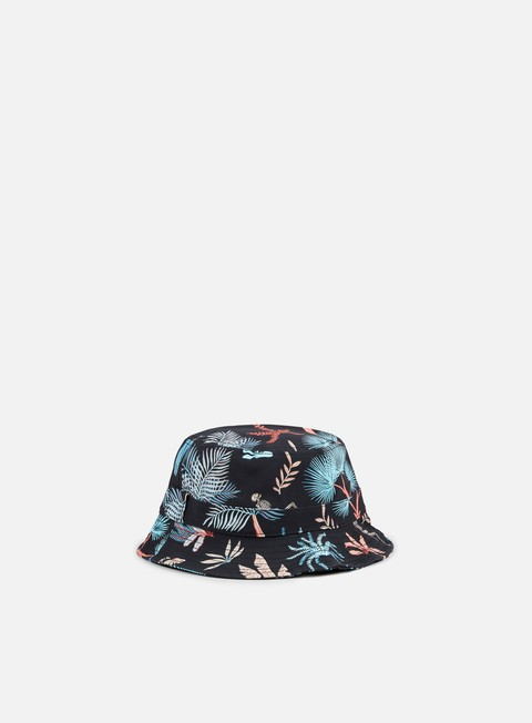 cappellini globe union bucket hat black multicolor