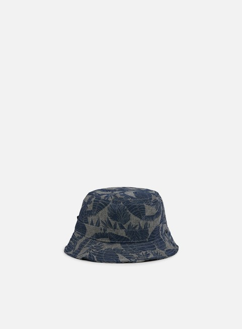 cappellini globe union bucket hat grey palms