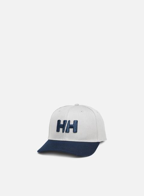 cappellini helly hansen hh brand cap graphite blue