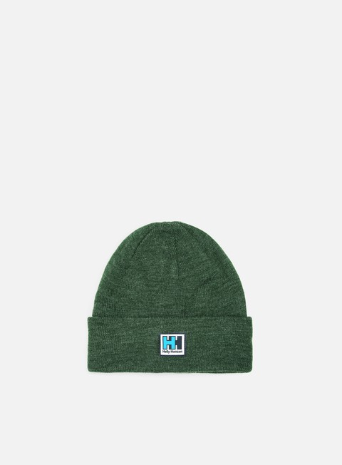 cappellini helly hansen hh knitted beanie mountain green