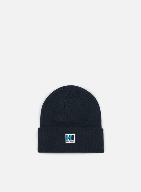 cappellini helly hansen hh knitted beanie navy