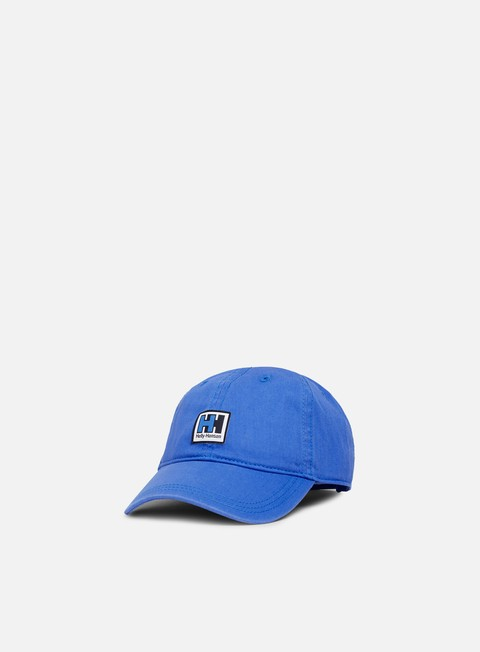 cappellini helly hansen hh logo cap blue water
