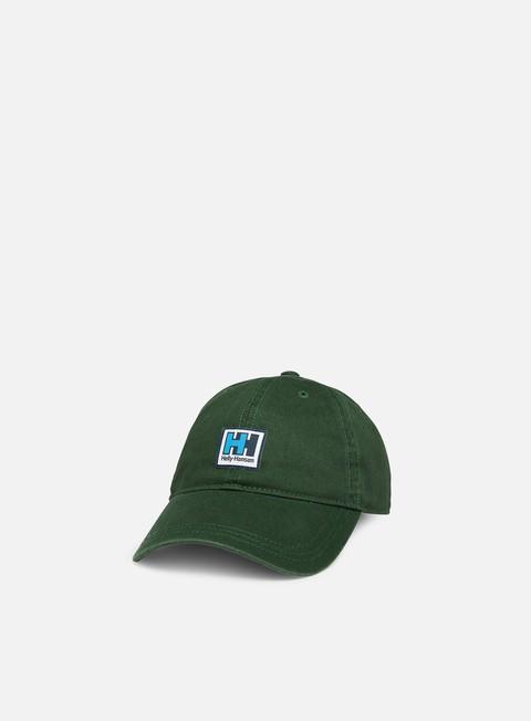 cappellini helly hansen hh logo cap mountain green