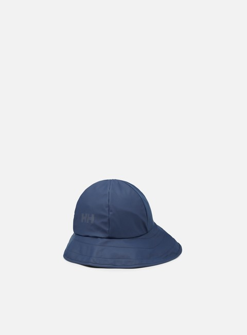 cappellini helly hansen hh souwester hat evening blue