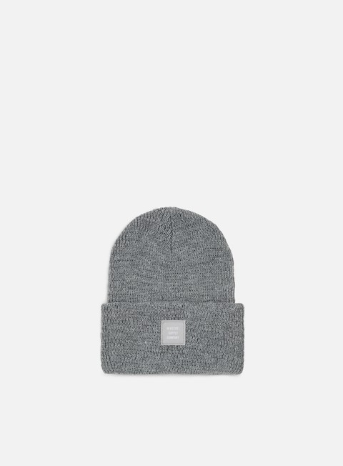 cappellini herschel abbott reflective beanie heather grey