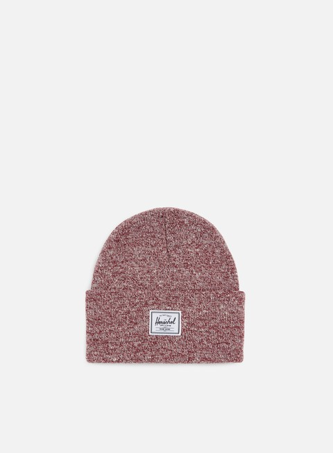 cappellini herschel elmer beanie heather red