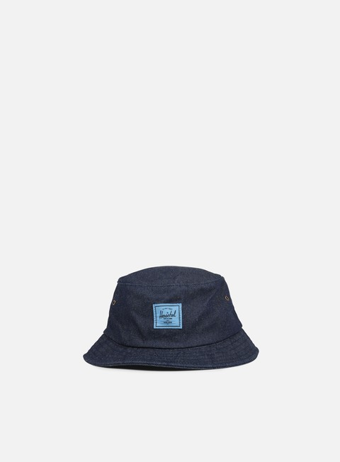cappellini herschel lake bucket hat dark denim