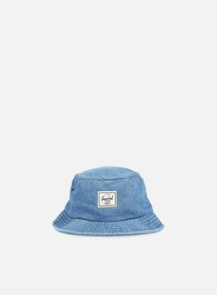 Herschel - Lake Bucket Hat, Faded Denim