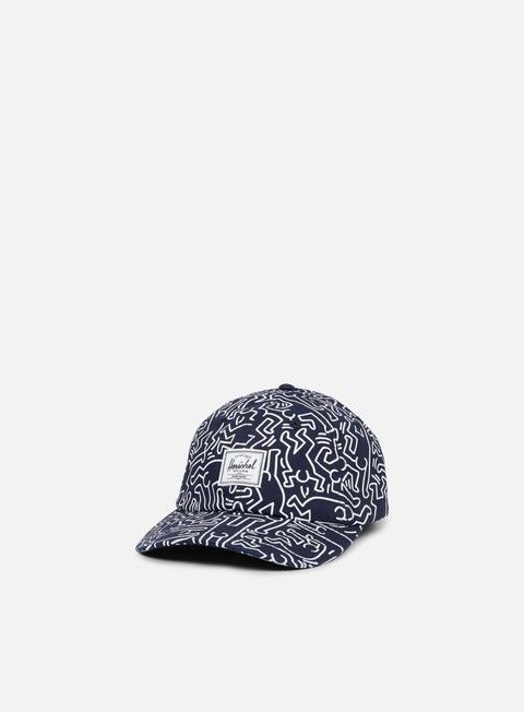 Cappellini Visiera Curva Herschel Sylas Keith Haring Hat
