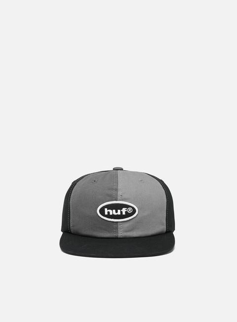 Outlet e Saldi Cappellini con visiera Huf 99 Logo 6 Panel Hat