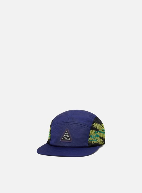 Outlet e Saldi Cappellini 5 Panel Huf Advantage Set Volley Hat