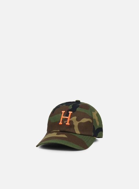 cappellini huf ambush curved visor hat camo