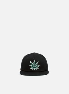 Huf - Censored Snapback Hat, Black