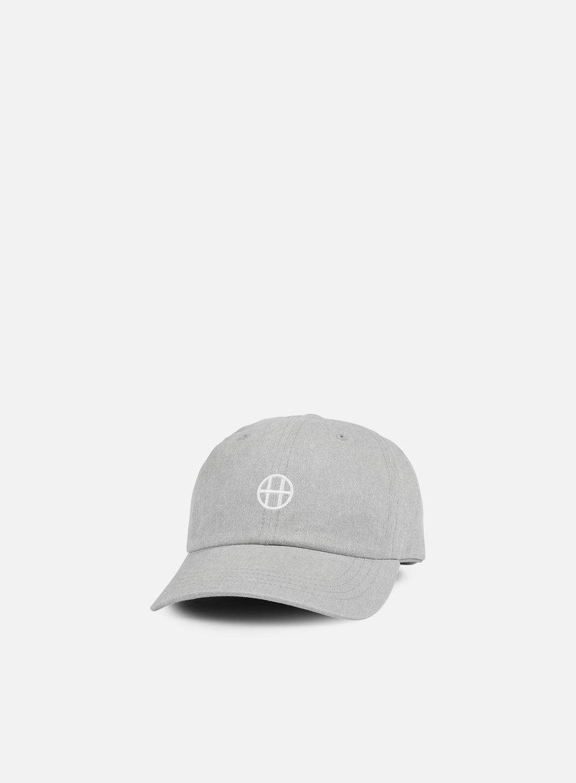 Huf - Circle H 6 Panel Hat, Grey Heather