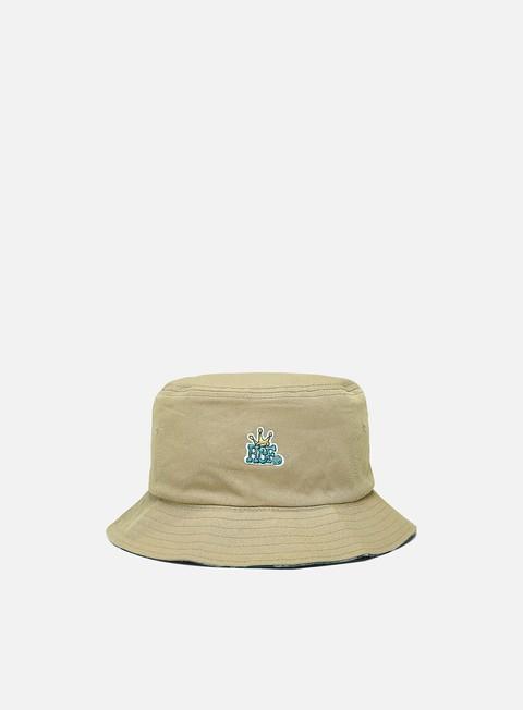 Outlet e Saldi Cappellini bucket Huf Crown Reversible Bucket Hat
