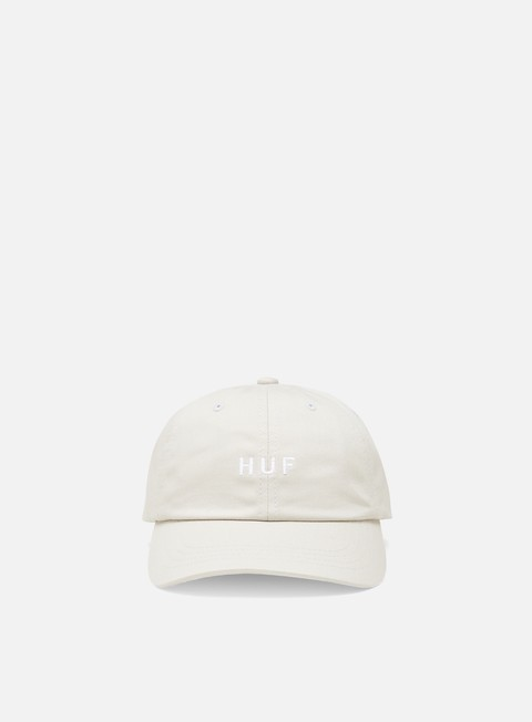Curved Brim Caps Huf Essentials Og Logo Cv 6 Panel