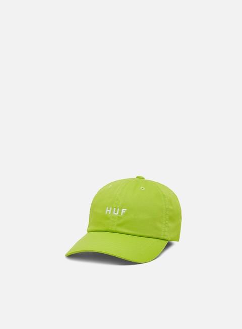 Outlet e Saldi Cappellini Visiera Curva Huf Essentials Og Logo CV Hat
