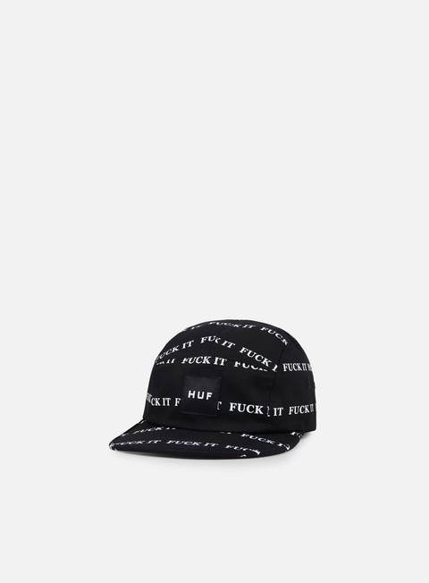 cappellini huf fuck it volley hat black