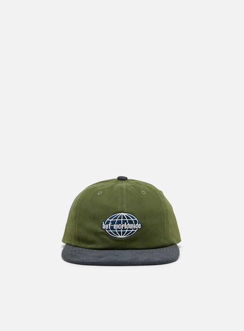 Brim caps Huf Global Corduroy 6 Panel Hat