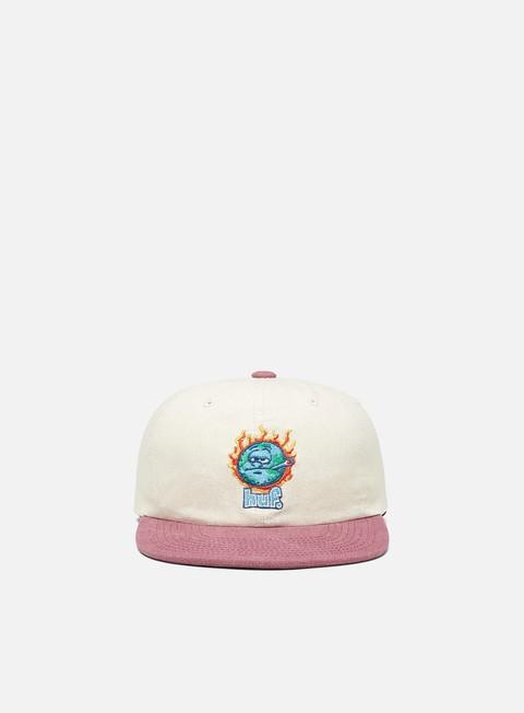 Outlet e Saldi Cappellini con visiera Huf Global Warming 6 Panel Hat