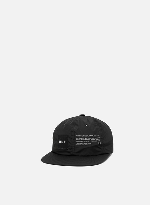 Cappellini 5 Panel Huf Offset 6 Panel Hat