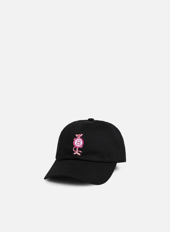 Huf - Pink Panther Pink 8Ball, Black
