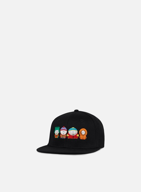 cappellini huf south park kids strapback black
