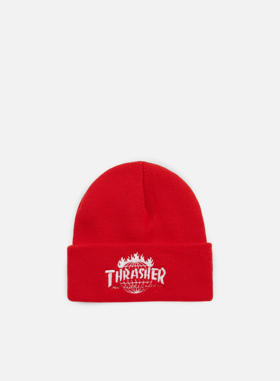Huf - Thrasher TDS Beanie, Red
