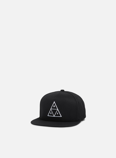 cappellini huf triple triangle essential snapback black