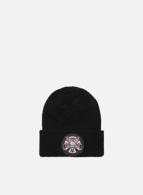 Beanies Independent Thrasher Pentagram Cross Logo Shoreman Beanie