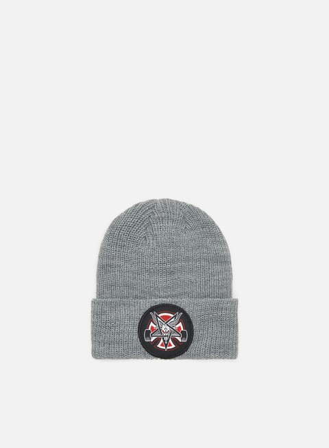 Independent Thrasher Pentagram Cross Logo Shoreman Beanie
