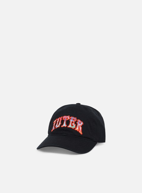 Curved Brim Caps Iuter Griffin Logo Dad Hat