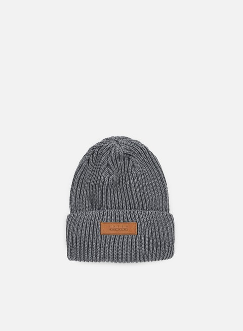 cappellini iuter road beanie dark grey