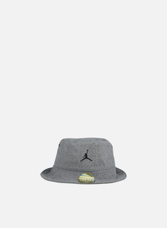 Jordan - 23 Lux Bucket Hat, Black Heather/Cool Grey 1