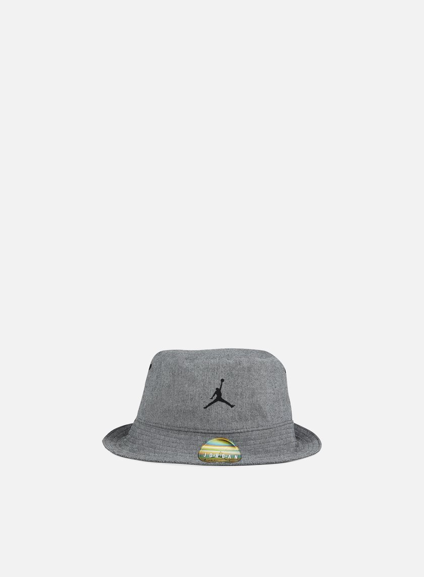 Jordan - 23 Lux Bucket Hat, Black Heather/Cool Grey
