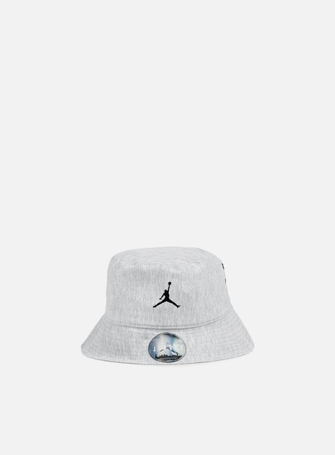 cappellini jordan 23 lux bucket hat dark grey heather cool grey