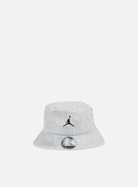 cappellini jordan 23 lux bucket hat dark grey heather cool grey