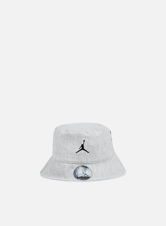 Jordan - 23 Lux Bucket Hat, Dark Grey Heather/Cool Grey