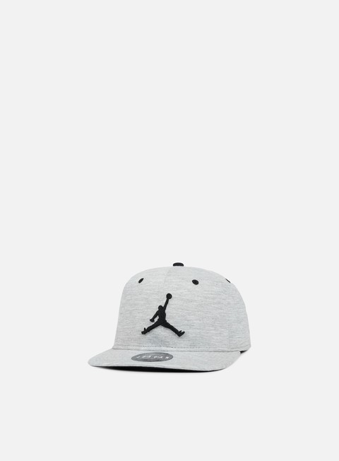cappellini jordan 23 lux snapback dark grey heather black