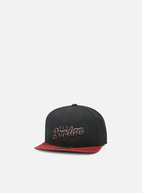 cappellini jordan air jordan seasonal print snapback black gym red