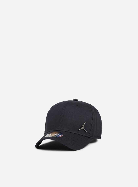 Jordan - Classic 99 Metal Jumpman Cap, Black