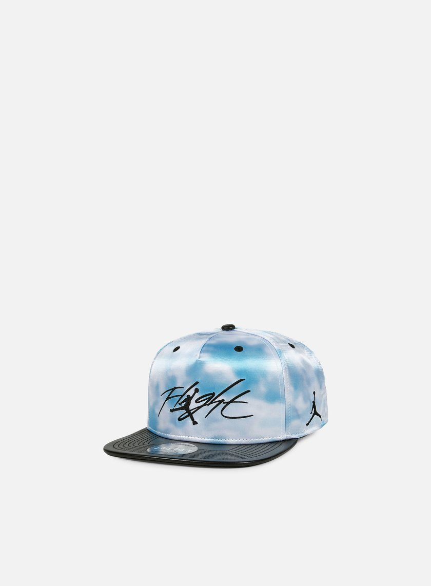 Jordan - Cloud Print Snapback, Ice/Black