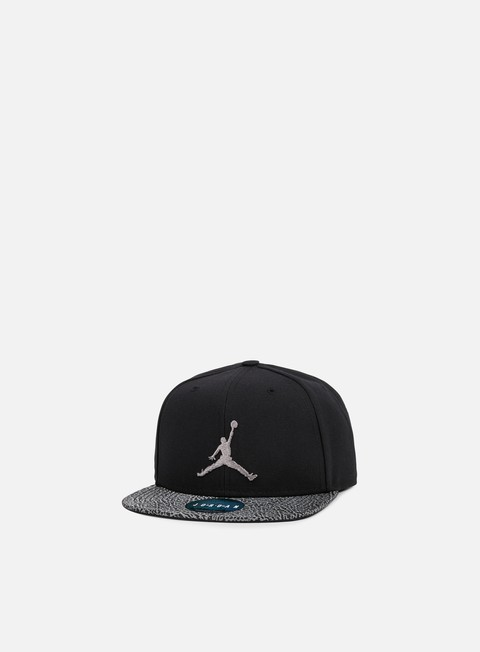 cappellini jordan elephant bill snapback black dust