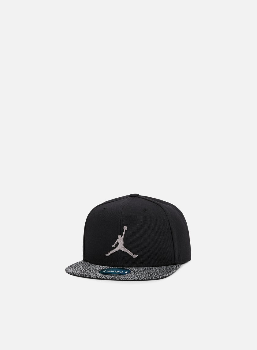 Jordan - Elephant Bill Snapback, Black/Dust