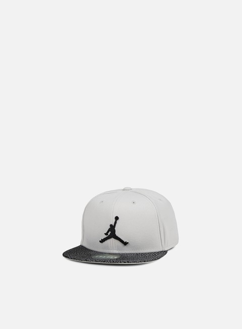 cappellini jordan elephant bill snapback light bone black