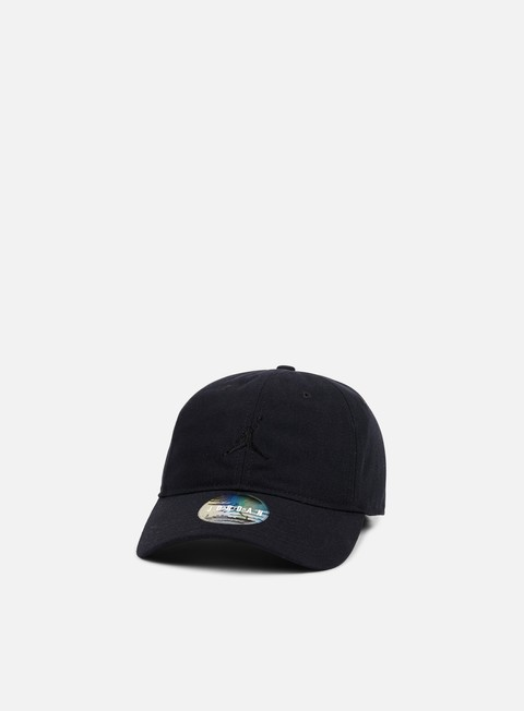 cappellini jordan floppy h86 strapback cap black black