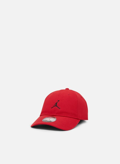cappellini jordan floppy h86 strapback cap gym red black