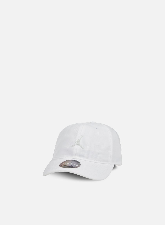 Jordan - Floppy H86 Strapback Cap, White/Off White