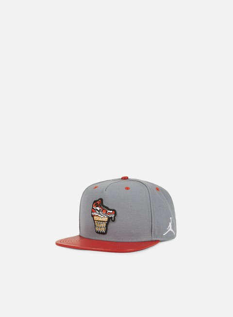 cappellini jordan ice cream pack snapback university red